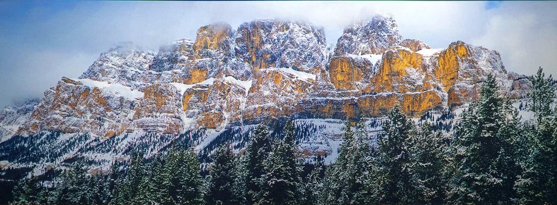 Castle Mountain Painting | Cochrane Dental Centre