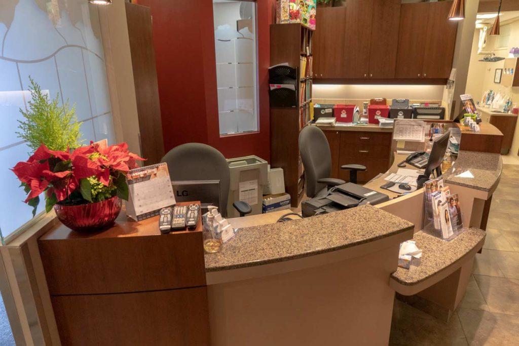 Front Reception Desk