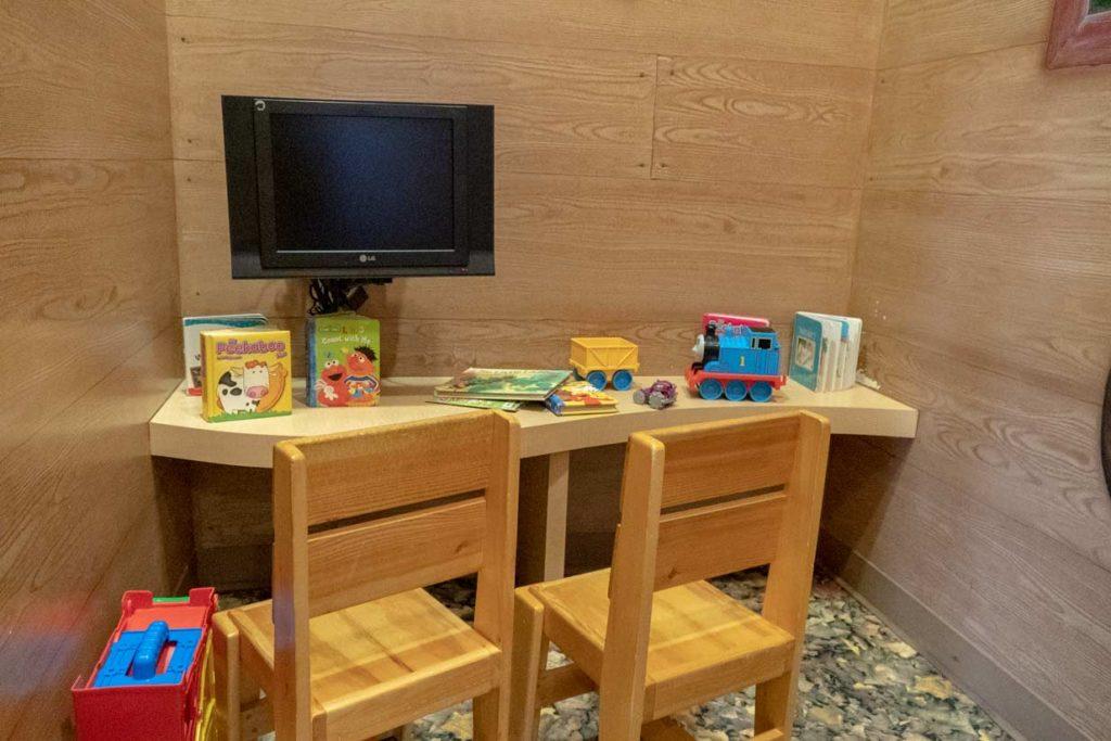 Kids Play Area Interior